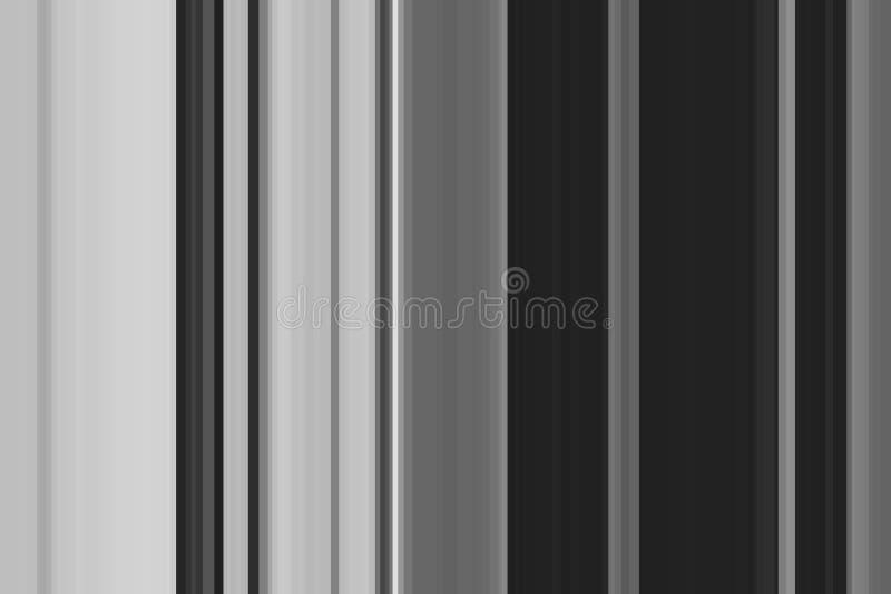 Biały czarny kruszcowy bezszwowy lampasa wzór Abstrakcjonistyczny ilustracyjny szary tło Eleganccy nowożytni trendów kolory ilustracji