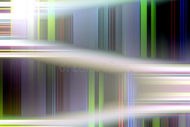 Biały czerni zieleni kontrasta abstrakt zaświeca, tworzy, i kształty, geometryczny abstrakcjonistyczny tło ilustracja wektor