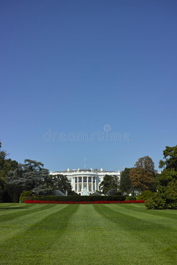 Biały dom zdjęcie stock