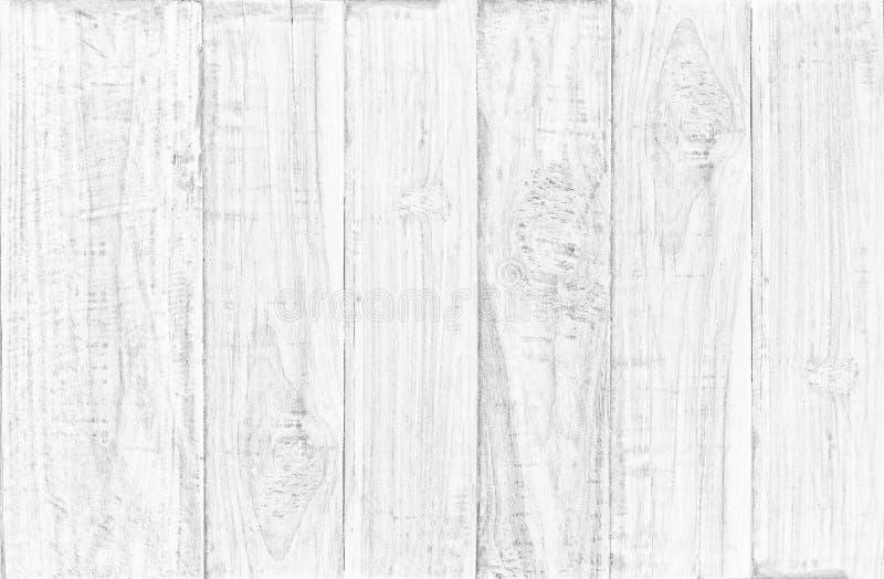 Biały drewniany stołowy odgórnego widoku tło używa my dla tło projekta drewniany tekstury tło obraz stock