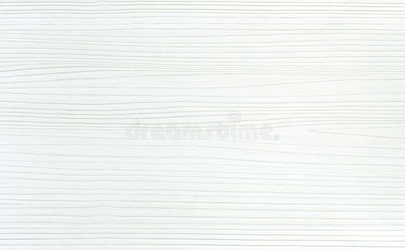 Biały drewniany tekstury tło