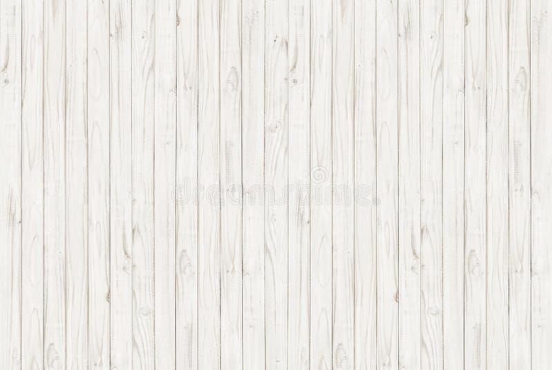 Biały drewniany tekstury tło obraz stock