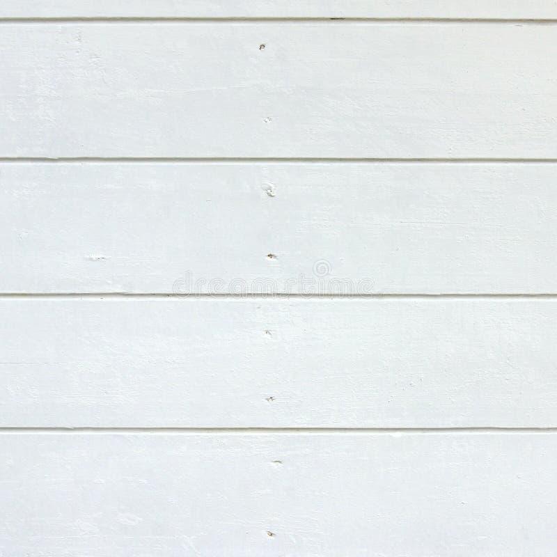 Biały drewno desek panel obrazy royalty free