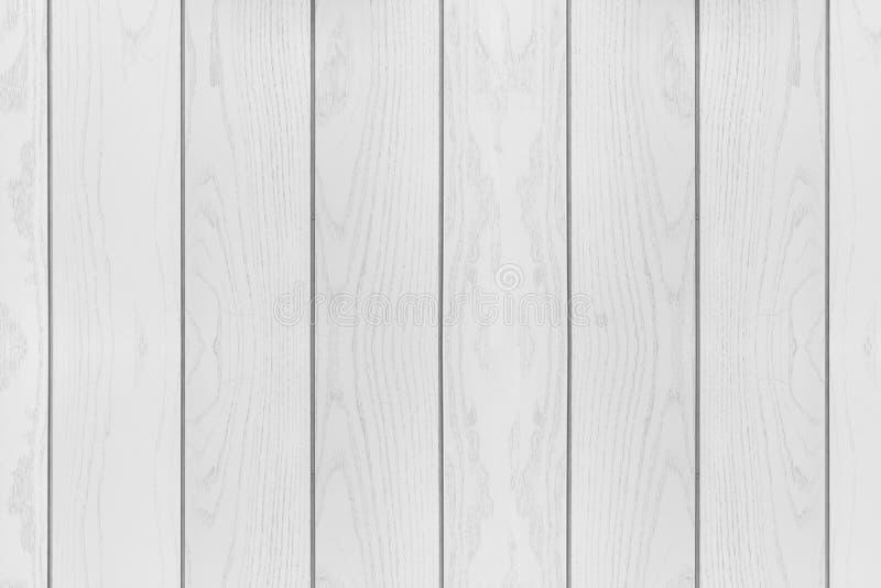 Biały drewno textured horyzontalny tło obrazy royalty free