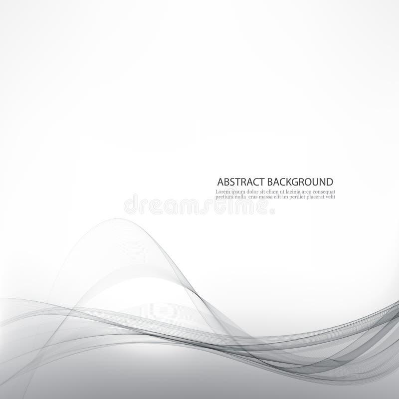 Biały elegancki biznesowy tło również zwrócić corel ilustracji wektora szablon ilustracji