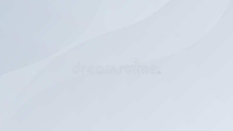 Biały gradientowy abstrakt krzywy wzór na szarym tle obraz stock