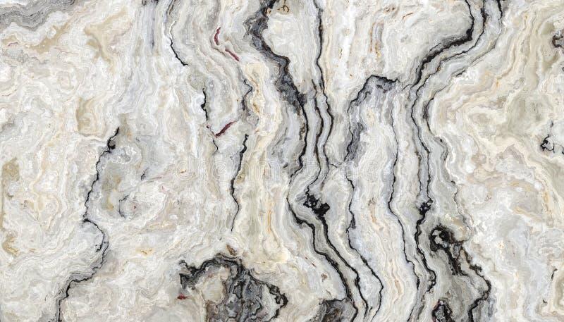 Biały kędzierzawy marmur fotografia stock