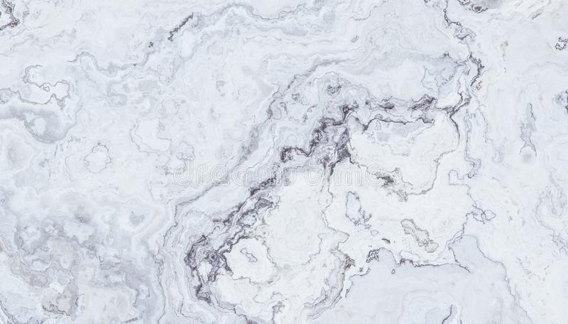 Biały kędzierzawy marmur obrazy stock