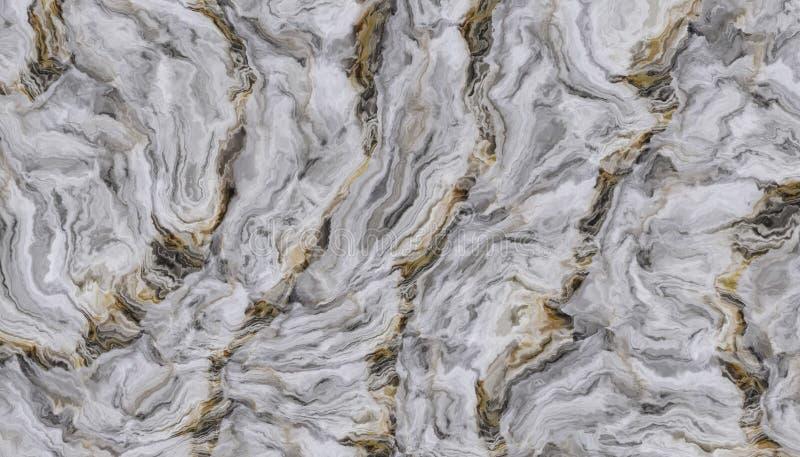 Biały kędzierzawy marmur zdjęcie royalty free