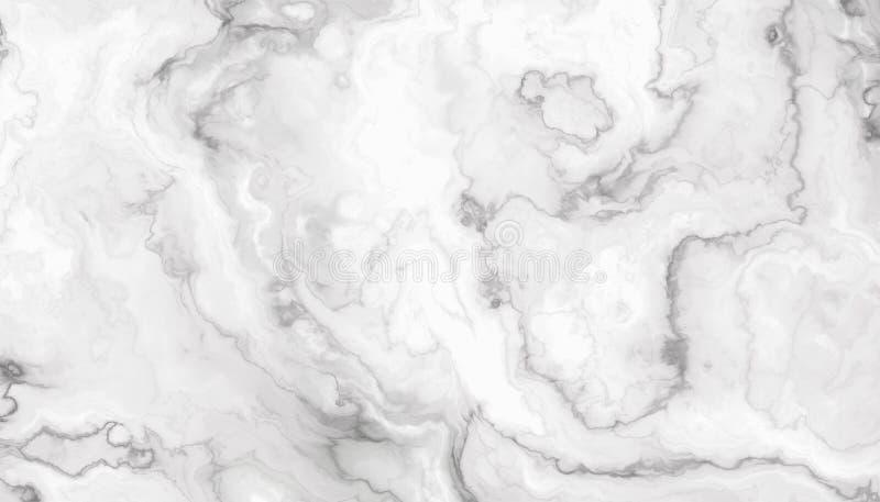 Biały kędzierzawy marmur royalty ilustracja