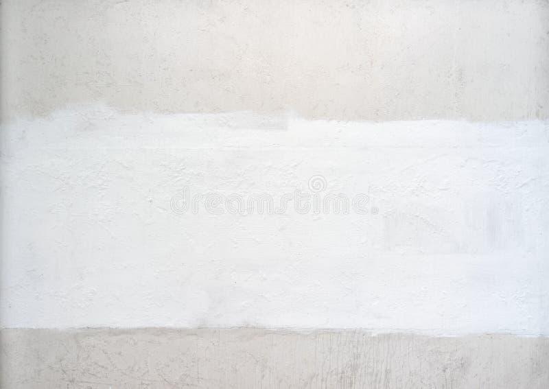 Biały koloru tło naturalny cement lub kamienna stara ścienna tekstura obraz royalty free