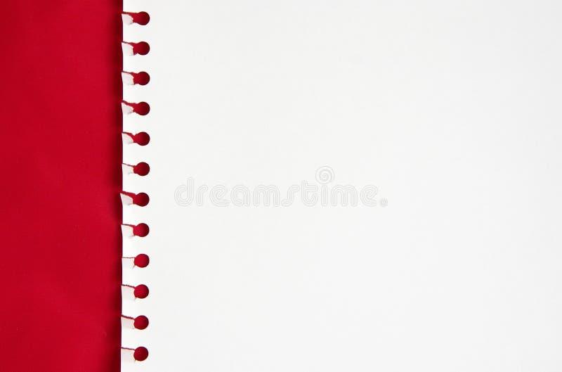 biały papier fotografia stock