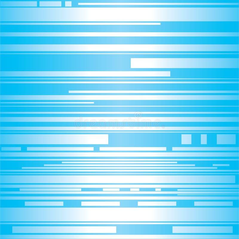Biały pasek w błękitnym tle ilustracji