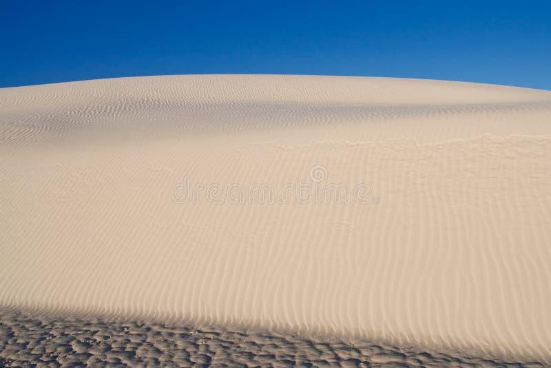 biały piasków wydmowi pomnikowi krajowi piaski usa zdjęcie stock
