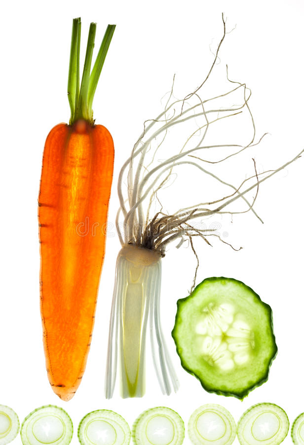 biały pokrojeni warzywa obrazy royalty free