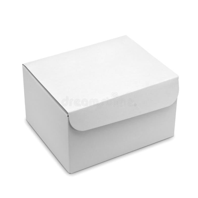 Biały pudełko zdjęcia royalty free