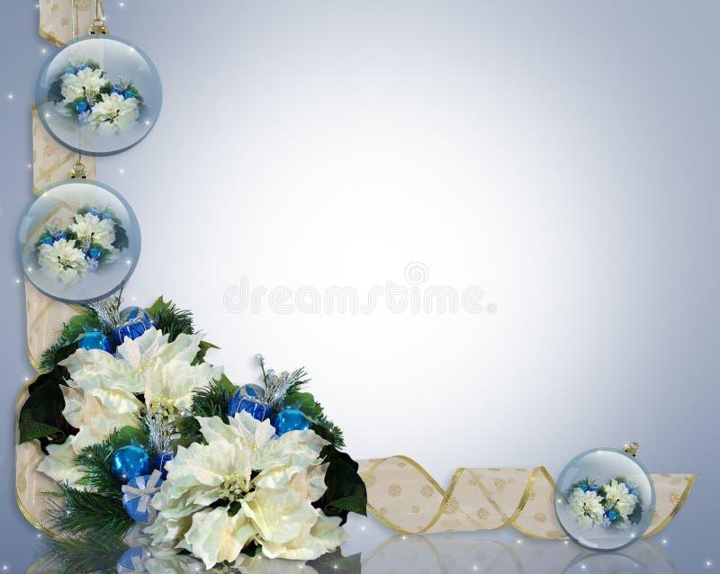 biały rabatowi błękit boże narodzenia royalty ilustracja