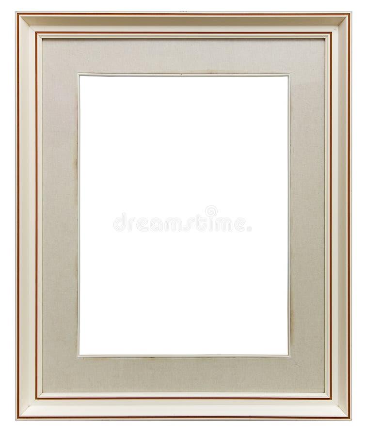 biały ramowy drewniane zdjęcia stock