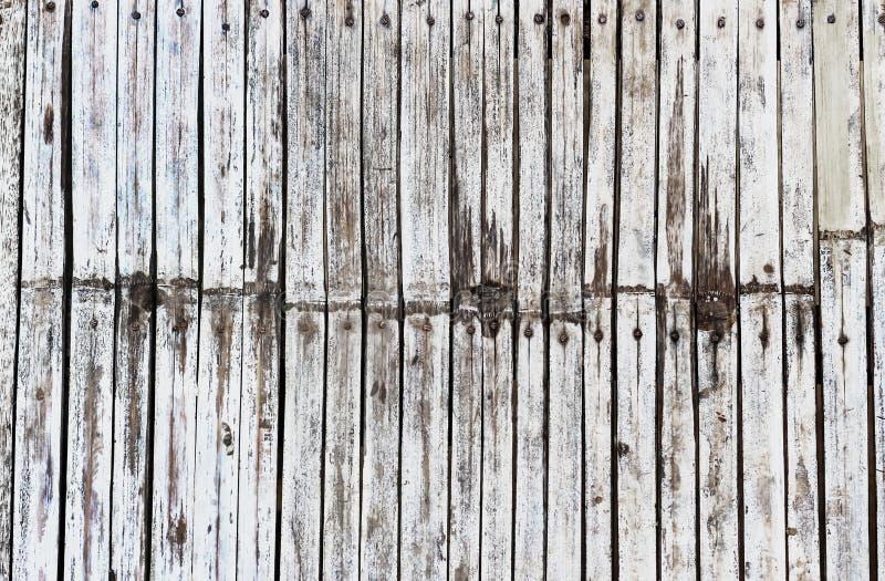 Biały rocznika drewna tło zdjęcia stock