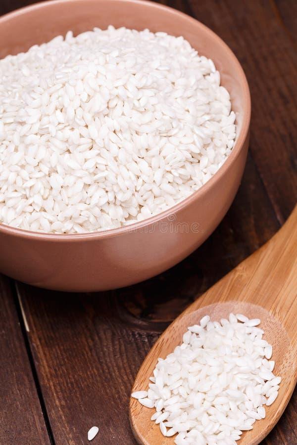 Biały ryż obraz stock