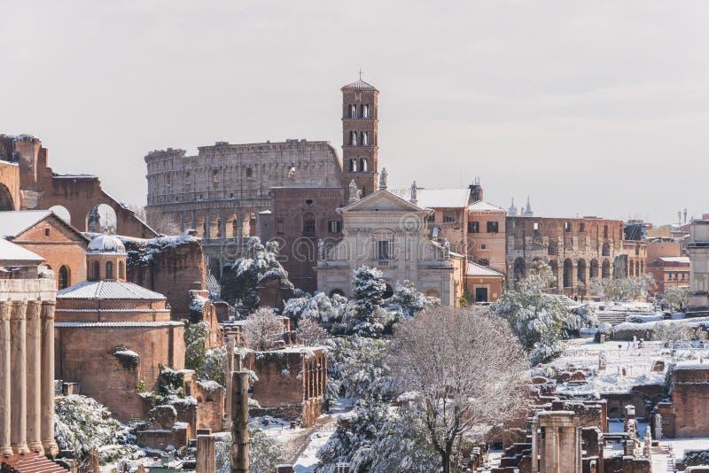 Biały Rzym obraz royalty free