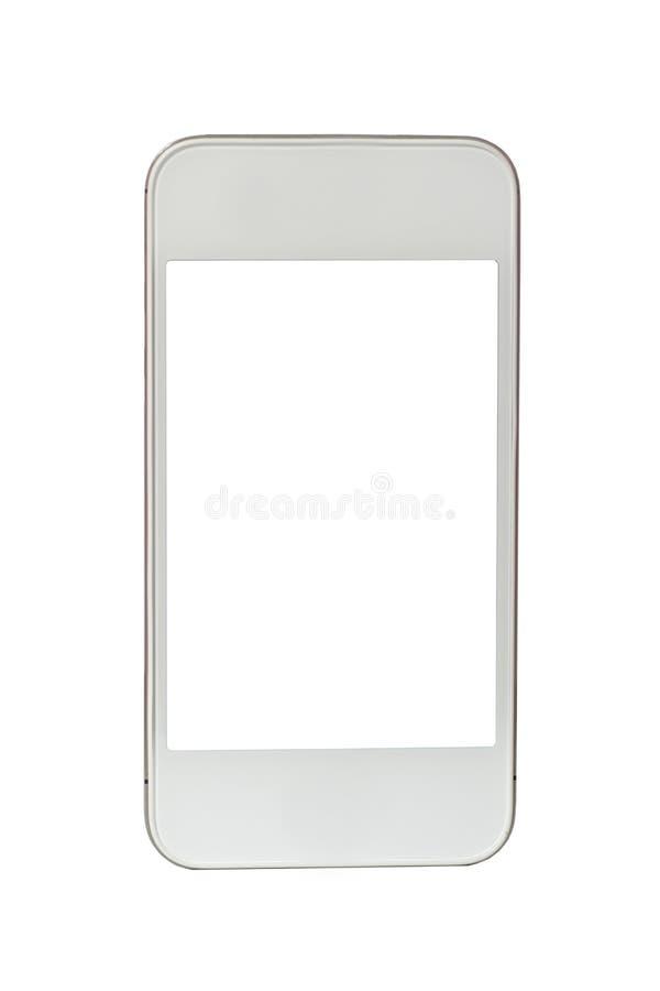 Biały Smartphone obrazy stock