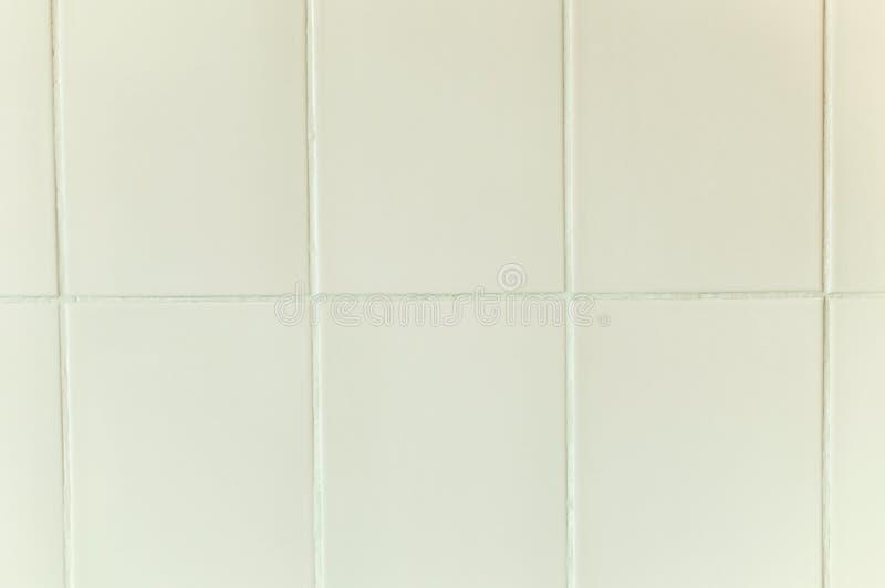 Biały, stary kafelek tekstury zdjęcia stock