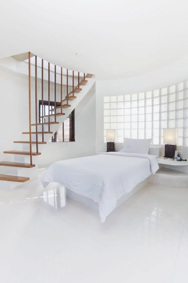 biały sypialni dzieci fotografia stock