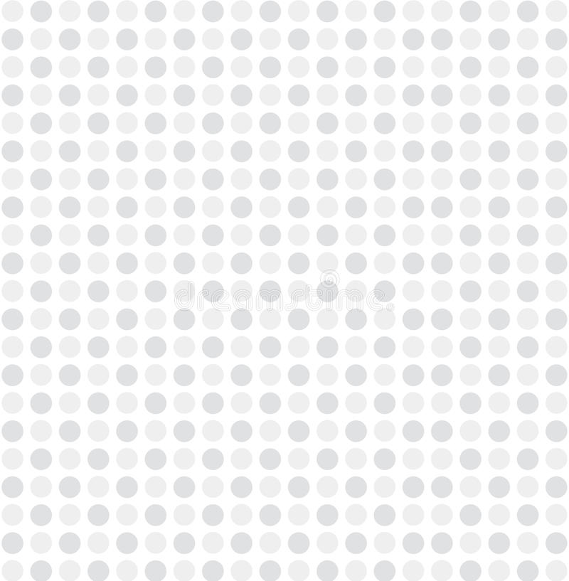 Biały szary kropka wzoru tła wektor ilustracja wektor
