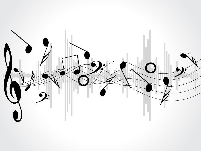 biały tło notatki różne muzyczne ilustracji