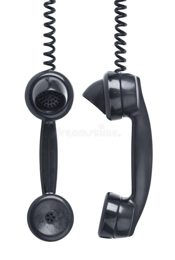 biały TARGET1275_1_ odosobneni telefony zdjęcia stock