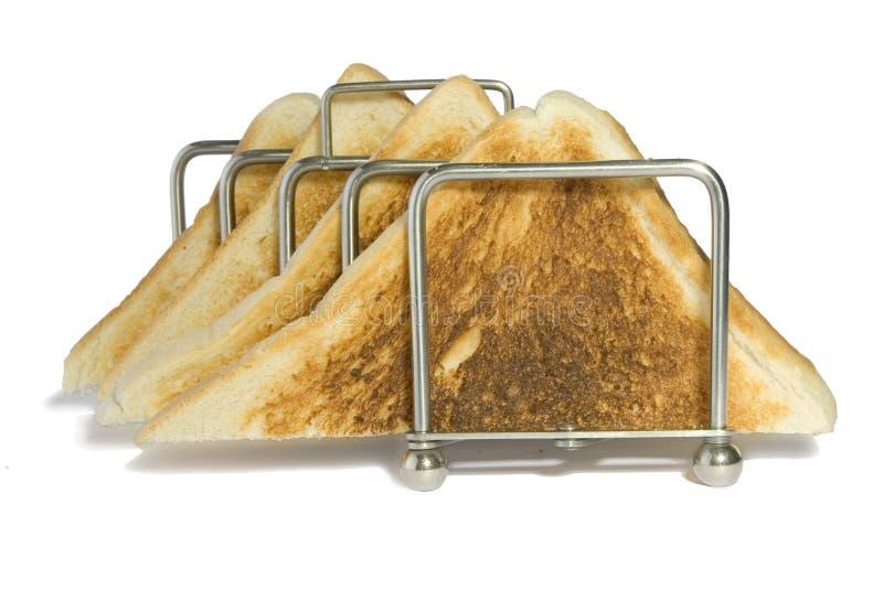biały tost zdjęcia stock