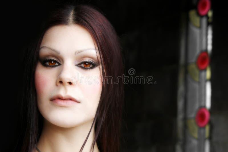 biały twarz kobiety fotografia royalty free