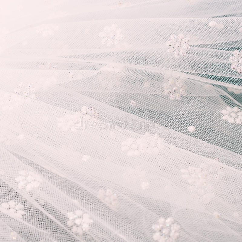biały welon tło fotografia royalty free