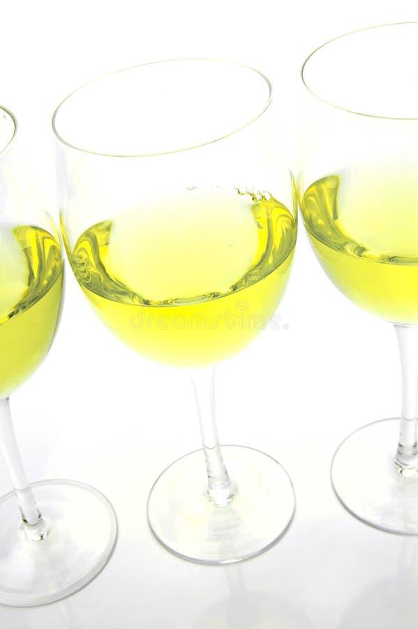 biały wino obrazy stock