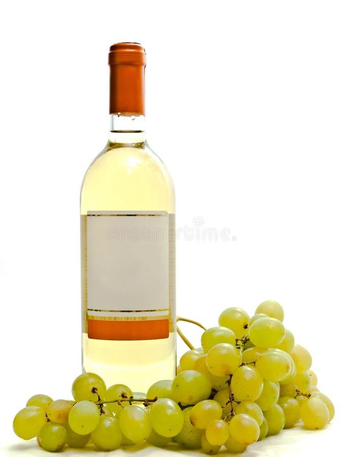 biały winogradu wino fotografia royalty free