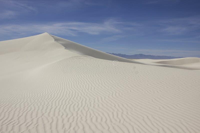 biały wydmowi piaski zdjęcia royalty free