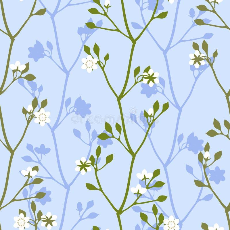 Białych kwiatów wiosny okwitnięcie obrazy stock