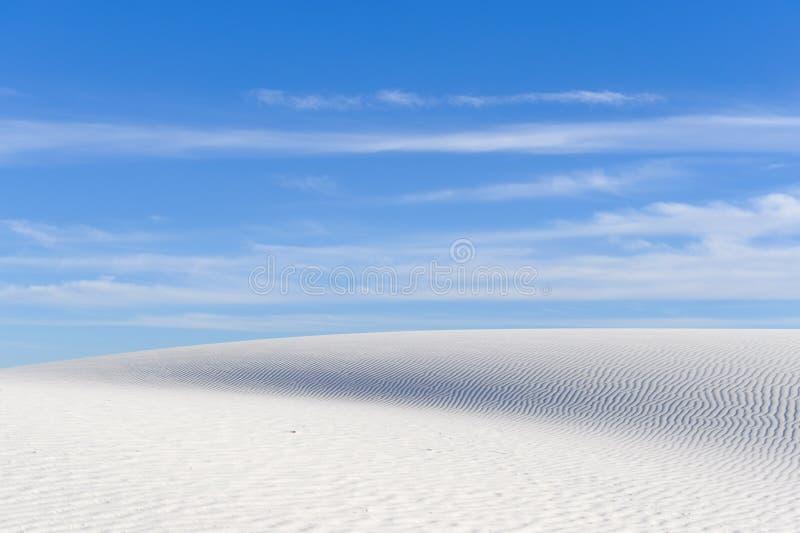 Białych piasków Krajowy zabytek obraz stock