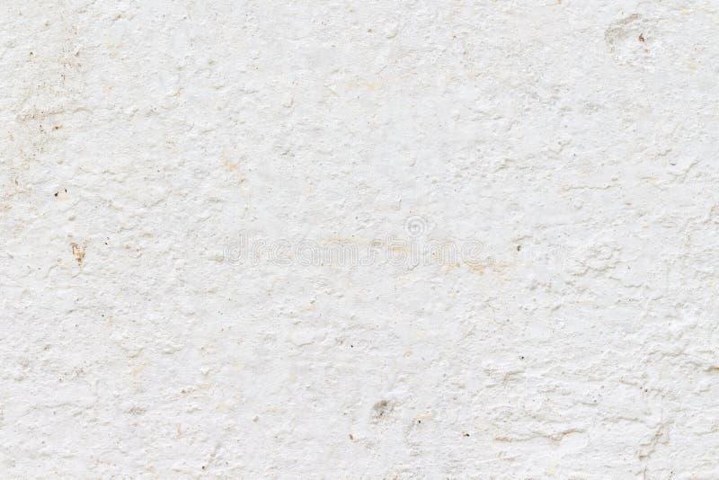 Bia?a betonowej ?ciany tekstura obraz stock