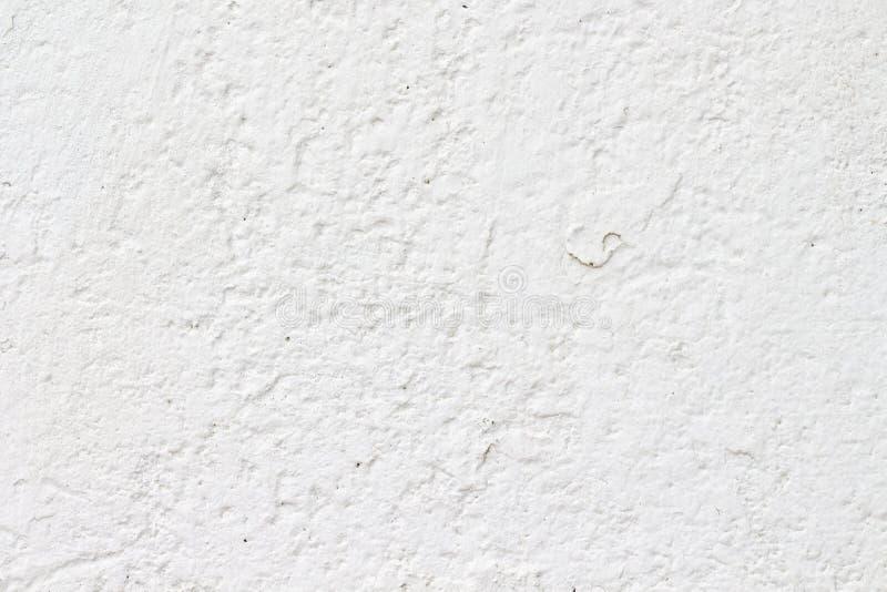 Bia?a betonowej ?ciany tekstura fotografia stock