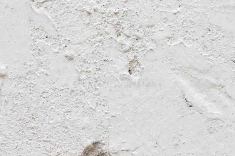 Bia?a betonowej ?ciany tekstura obraz royalty free