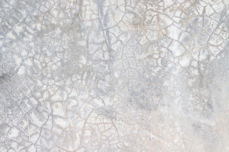 Bia?a betonowej ?ciany tekstura obrazy stock