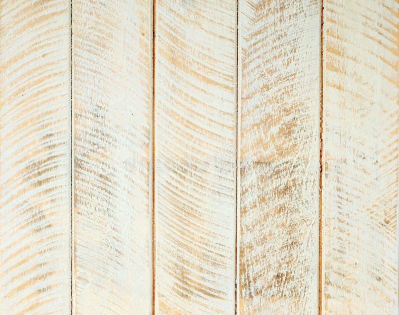Bia?y i br?z rocznika obrazu projekta drewniany textured t?o, szczeg?? powierzchnia zamkni?ta w g?r? zdjęcia royalty free