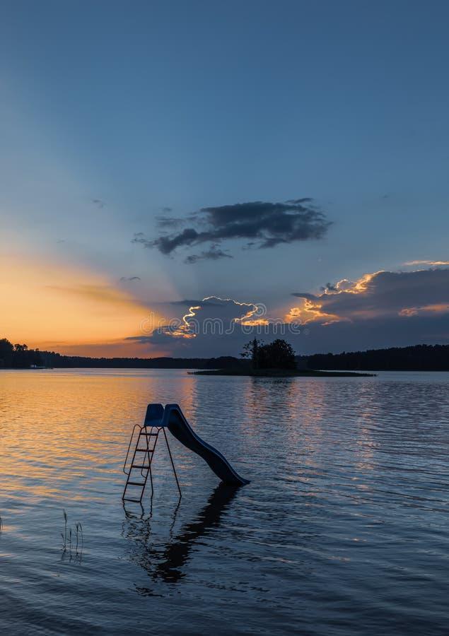 Biale See in Augustow polen lizenzfreie stockfotos