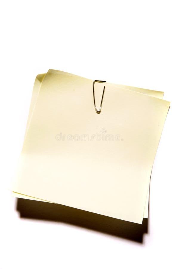 biali notepads pojedyncze obraz royalty free