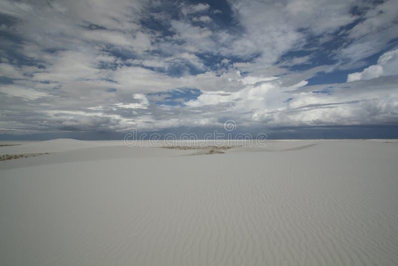 Biali piaski, Krajowy zabytek, Nowy - Mexico, usa zdjęcia royalty free