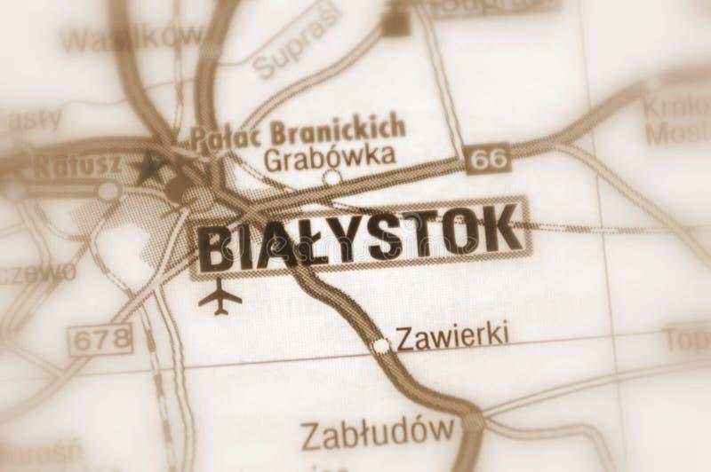 Bialystok Polen - Europ arkivfoton