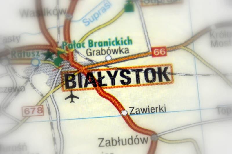Bialystok Polen - Europa royaltyfri bild