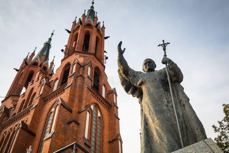 Bialystok, Polska - 17 września 2018: Bazylika Najświętszej Maryi Panny w Białymstoku Bialystok jest obrazy royalty free